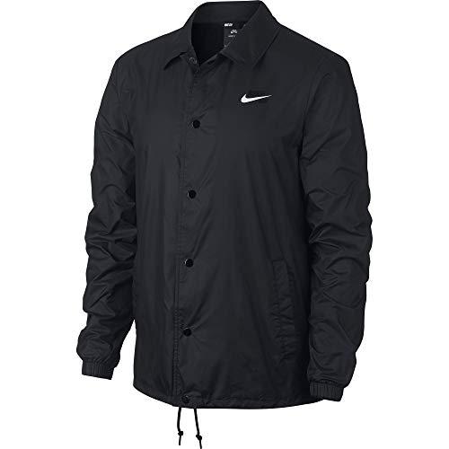Nike SB Shield Men's Skate Jacket - AO0564 (Black/White, X-Large) (Nike Snow Jacket)