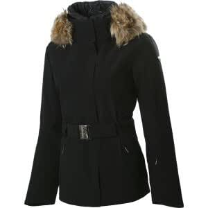 Amazon.com: Spyder Womens Diamond Real Fur Jacket: Sports