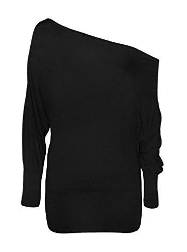 Elum® - Camiseta de manga larga - para mujer negro