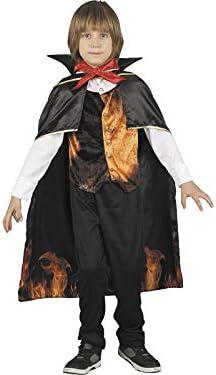 DISONIL Disfraz Niño Vampiro Infernal Talla S: Amazon.es: Juguetes ...