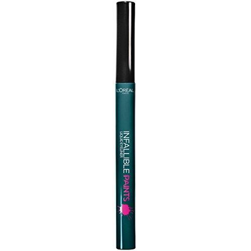 L'Oréal Paris Infallible Paints Eyeliner, Wild Green, 0.034 fl. oz. (Best Dark Green Eyeliner)