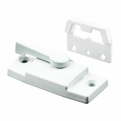 Slide-Co 174305 Sash Lock & Keeper Window Lock White