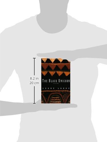 b3961f297 Amazon.com: The Black Unicorn: Poems (Norton Paperback) (9780393312379):  Audre Lorde: Books