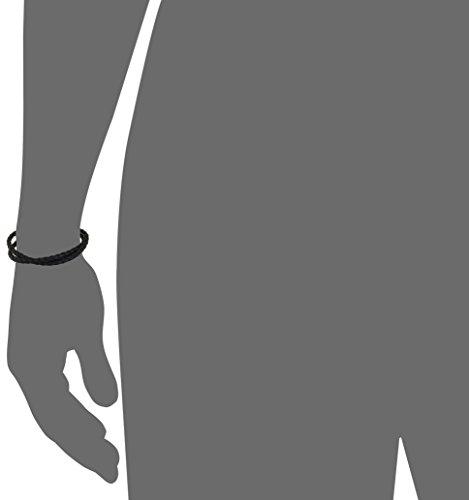 Tateossian Scoubidou Pop Silver Black Large Double Wrap Bracelet by Tateossian (Image #2)