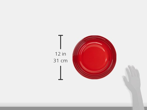 Le Creuset Stoneware 16-Piece Dinnerware Set, Cerise (Cherry Red) by Le Creuset (Image #4)
