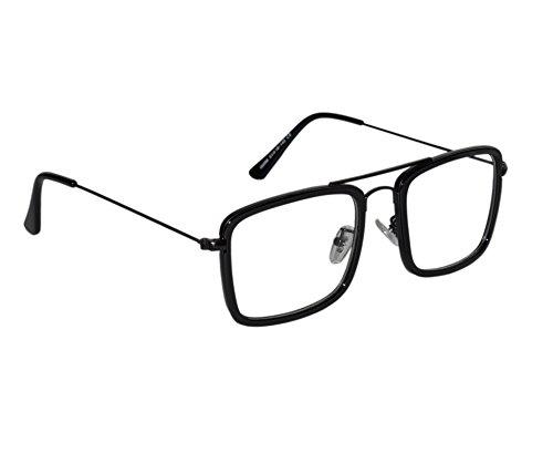 45d89f3dbf Peter Jones Non-Polarized Square Unisex Frame -(DW26 Black)  Amazon ...