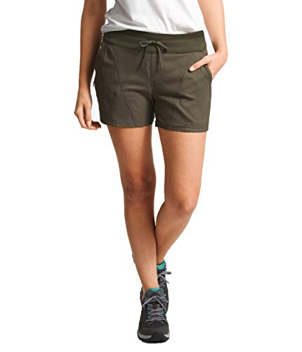 The North Face Women's Aphrodite 2.0 Shorts New Taupe Green Heather X-Large 6