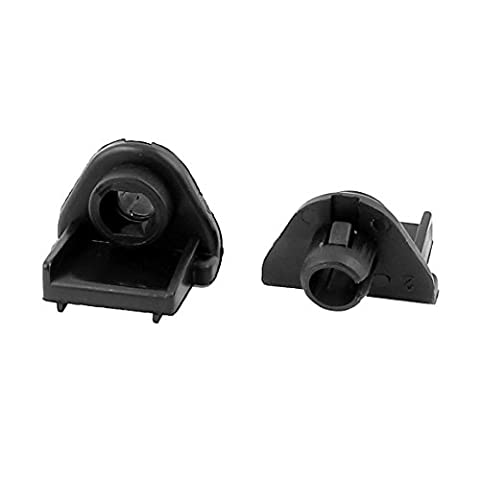 uxcell Truck Car Bonnet Hood Support Prop Holder Clamps Clips Sockets 2Pcs (1996 Honda Civic Hood Cover)