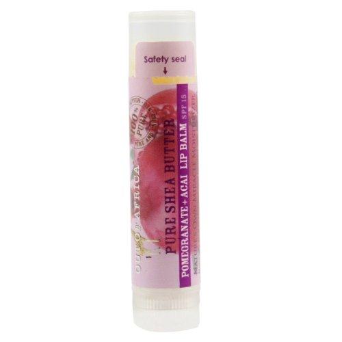Pure Shea Butter Lip Balm with 0.25 oz Balm