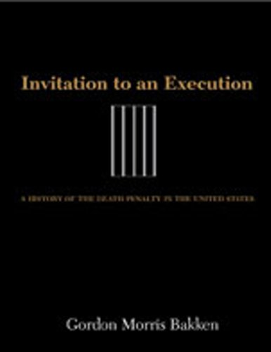 an introduction to the history of death penalty Deathquest: an introduction to the theory and practice of capital punishment in the united states [robert m bohm] on amazoncom free shipping on qualifying offers this fourth edition of and issues surrounding capital punishment the book begins with the history of the death penalty from colonial to modern times.