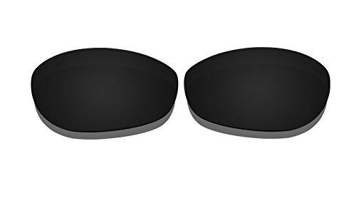 Black Polarized Replacement Lenses for Oakley Monster Dog Sunglasses