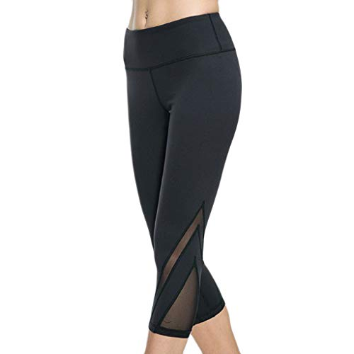 OVERDOES Women Breathable Yarn Fitness Pants Hip-Lifting, used for sale  Delivered anywhere in USA