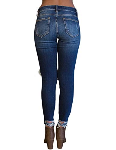 Unita 7 Slim Jeans Lrud Donna Tinta Blue qRzZnwPHx