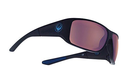 Dragon WatermanX Sunglasses - Matte Black Frame with Copper Lens (Polar Mirror Copper)