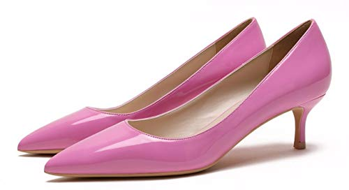Patent Rose Pu Pointu Bout Femme Camssoo nWfcTC