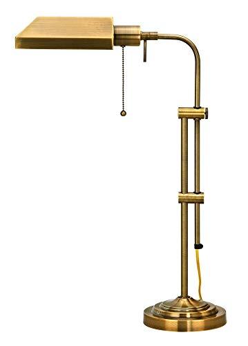 (Cal Lighting BO-117TB-AB Table Lamp, 22