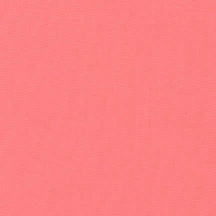 Solid pink Kona fabric Robert Kaufman USA Pink Flamingo (per 0.5 yard unit) ()