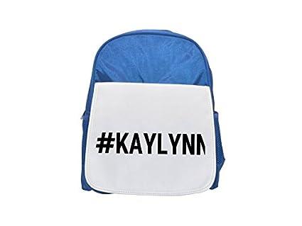 Kaylynn impreso Kid s azul mochila, para mochilas, cute small Mochilas,