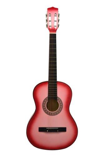 34-Scale-36-Junior-Acoustic-Beach-Beater-Guitar-DirectlyCheapTM-Translucent-Blue-Medium-Guitar-Pick