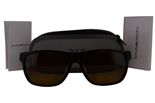 Emporio Armani EA4035F Sunglasses Dark Havana w/Polarized Brown Gradient Lens 502683 - Cheap Sunglasses Armani