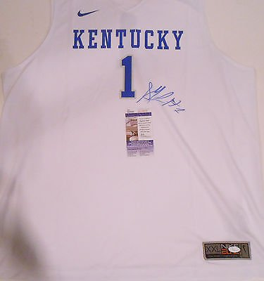 Skal Labissiere Signed Kentucky Wildcats Nike Basketball Jersey w/JSA COA