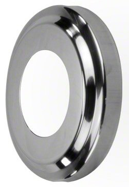 Replacement Stainless Steel Escutcheon Plate for Pool Ladders and Rails - 1.9 Inch
