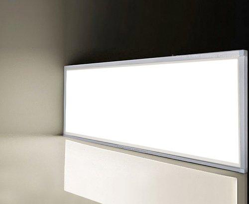 40w Surface Mount LED Panel 1200 x 300 Frame with LED Panel White ...