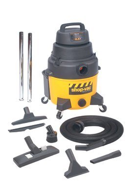Shop-Vac – Industrial Super Quiet Wet/Dry Vacuums, 8 gal, 6 1/2 hp