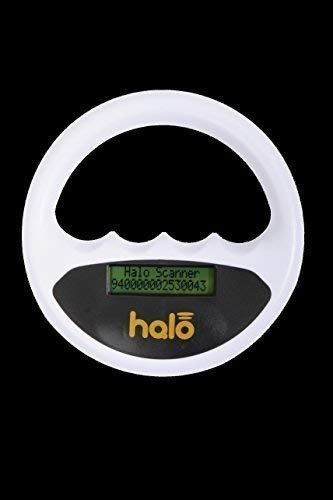 Halo Scanner with Scanner Angel Technology (White, Without Case)