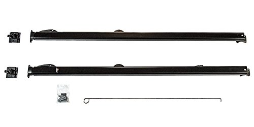 Carefree 961601 Fiesta Black with Matching Black Casting Universal Manual RV Awning Arms Set (68
