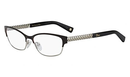 DIOR Eyeglasses 3769 0BTG Brown Gold - Dior Cat Eye Optical Glasses