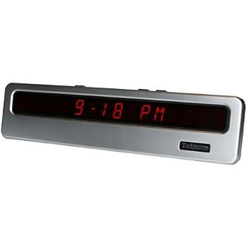 Amazon Com Telnote Extra Large 14 Inch Wide Digital Clock