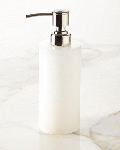 (Alabaster Lotion Dispenser, WHITE)