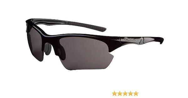 fcc89b4bf7dd Amazon.com  Ryders Eyewear Hex Sunglasses (Black Grey)  Sports   Outdoors