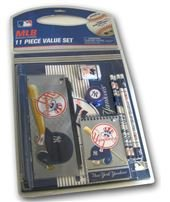 National Design 11 Piece Stationary Set Value Pack YANKEES (Value Stationary)