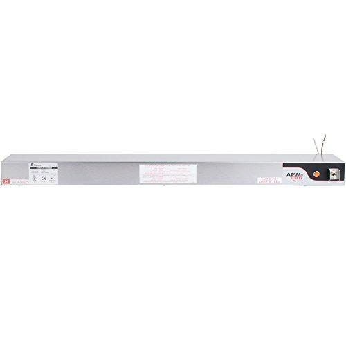 APW Wyott Single Standard Toggle Control Calrod Overhead Warmer - High Wattage, 6 x 2 1/2 x 36 1/4 inch -- 1 (Standard Calrod Overhead Warmers)