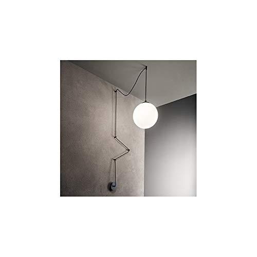 Lampadario Sfera Ideal Lux Art Boa Sp1 Nero Amazonit Illuminazione