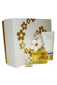 Marc Jacobs Daisy Gift Set for Women (Eau De Toilette Spray, Luminous Body Lotion, Mini Eau De Toilette Splash)