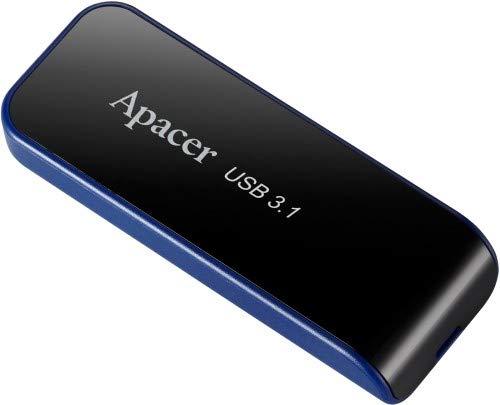 Apacer USB3.1 Gen1 Flash Drive AH356 64GB Black RP, AP64GAH356B-1 (64GB Black RP)
