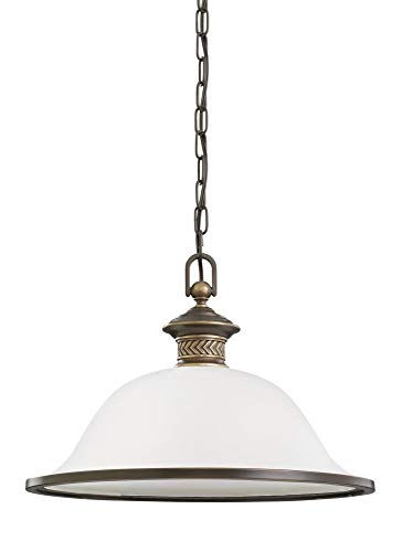 Sea Gull Lighting 65350EN3-708 One Light Pendant Estate Bronze