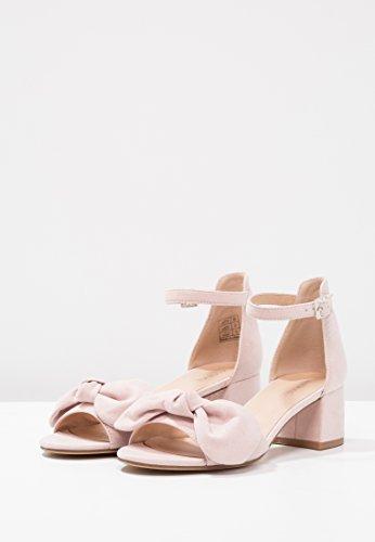 Da Alla Rosa Anna Tacco In Medio Sandaletti Cinturino Sandali Caviglia Similpelle Di A Scamosciati Qualità Field Alta Con Sandalo Donna Scarpe 44wfXq