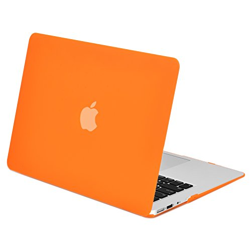 TOP CASE - Rubberized Hard Case Cover Compatible with Apple MacBook Air 11