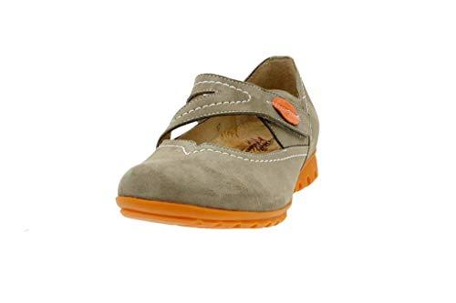 jane Mujer Zapato Cómodo Piesanto Mary Suede Vison 6529 qSStvprz