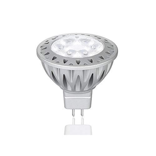 - Makergroup Low Voltage Lighting 12VAC/DC MR16 Gu5.3 Bi-pin LED Bulb Lamp Spotlight 5-Watt Warm White 2700K-3000K 35-50W Halogen Replacement for Indoor and Outdoor Landscape Lighting 1-Pack