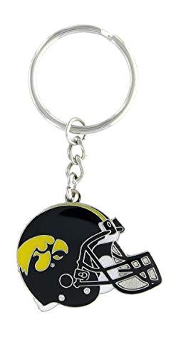aminco NCAA Iowa Hawkeyes Helmet Enamel Keychain