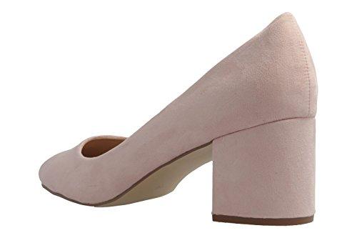 vestir rosa Rosa Zapatos mujer para de tela de Footwear Fitters xH4ZRwq