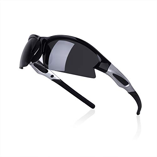 O2O Polarized Sports Sunglasses UV400 Protection Superlight Weight Designer All Sports Tr90 Frame Comfortable and Fit for Running Driving Baseball Golf Hiking Cycling Fishing Men Women Teens Youth