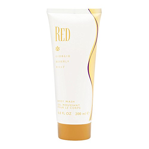 Giorgio Beverly Hills Body Wash for Women, Red, 6.8 Ounce