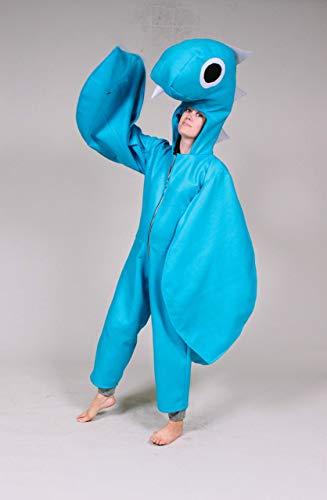 Adult Custom Size Loch Ness Monster Nessie Costume]()