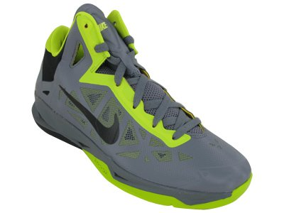 new concept 80c19 d6dd0 Nike Zoom Hyperchaos Mens Basketball Shoes 536841-006 Cool Grey 11 M US